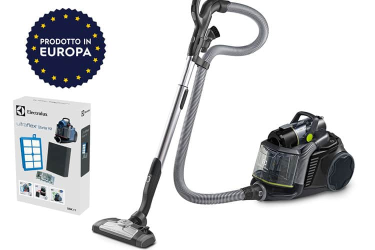 test aspirateur electrolux ultraflex zufgreen